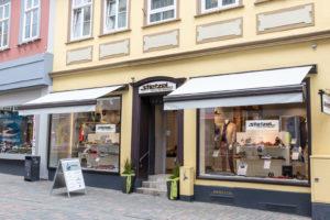 Stietzel Modehaus in Goslar Außensicht